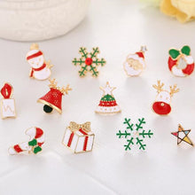 Load image into Gallery viewer, Christmas Selection Clip On Earrings