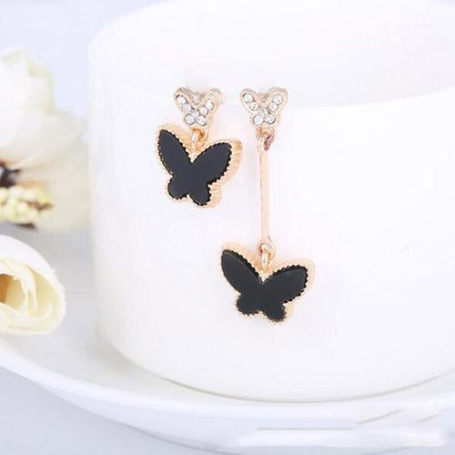 Short & Long Butterfly Clip On Earrings