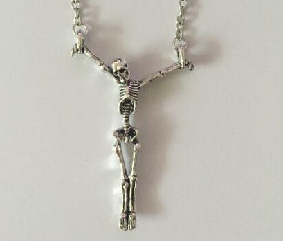 Gothic Skeleton Necklace