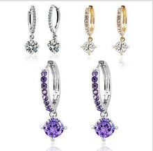 Load image into Gallery viewer, Austrian Crystal Drop Earrings