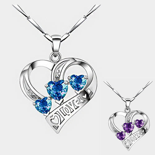 Exquisite 925 Love Necklaces