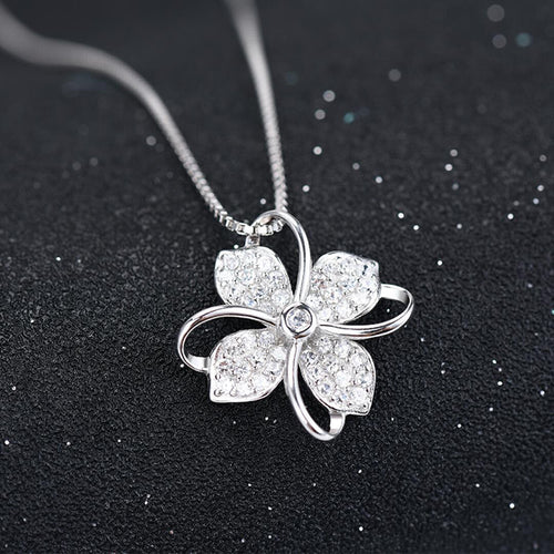 Four Leaf Clover 925 Necklace
