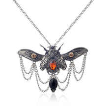 Load image into Gallery viewer, Steampunk Beetle Necklace