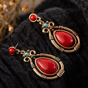 Chic Natural Stone Earrings