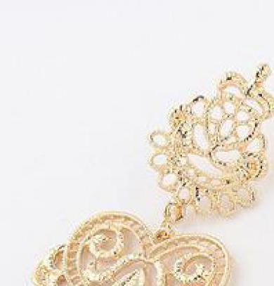 Lattice Love Earrings