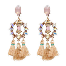 Load image into Gallery viewer, Handmade Boho Tassel Earrings