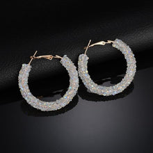 Load image into Gallery viewer, Bling Fashion Round Earrings
