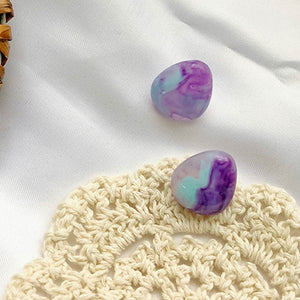 Stone Clip On Earrings