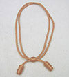 Adjustable NCO & EM Cavalry Hat Cord Rayon Light Brown
