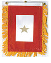 Gold Star Service Mini Banner