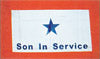 Son In Service - Blue Star Flag