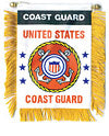 U.S. Coast Guard Mini Banner