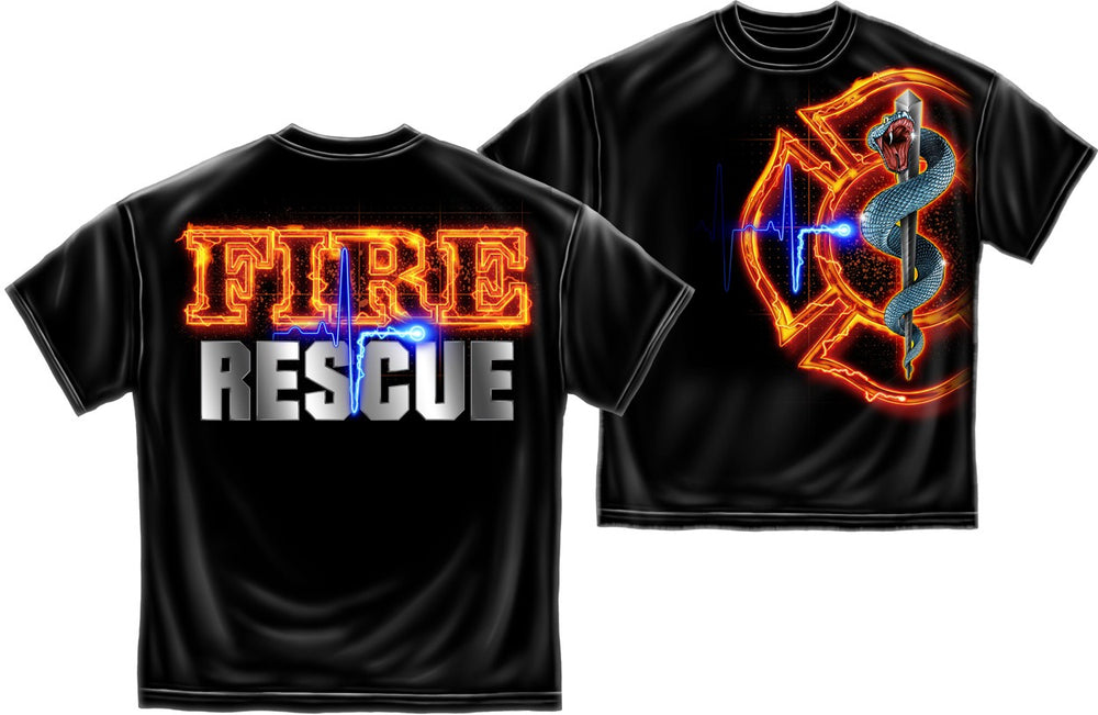 Fire Rescue Men's T-Shirt