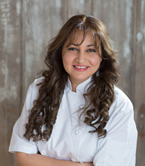 Saima Haque - Owner and Head Chef, Dessert Indulgence