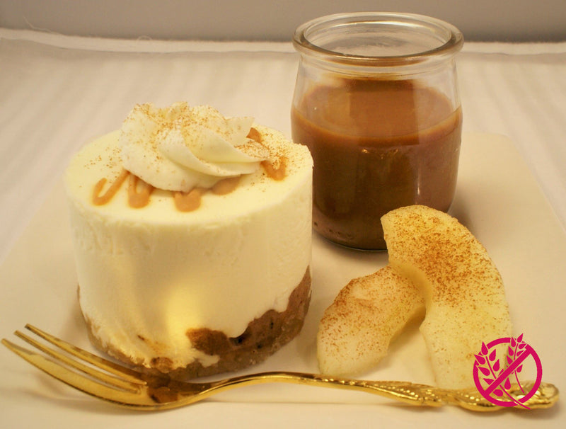 Apple Spice Cheesecake - Gluten Free