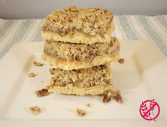 Streusel Squares - Gluten Free