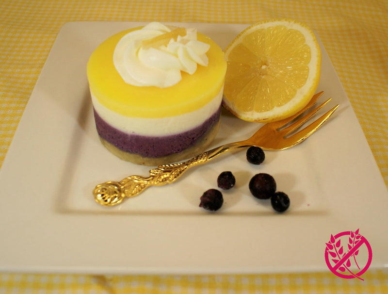Blueberry Lemon Cheesecake - Gluten Free