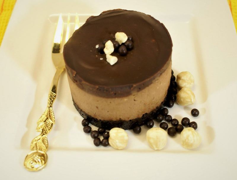 Chocolate Hazelnut Cheesecake (Gianduja)