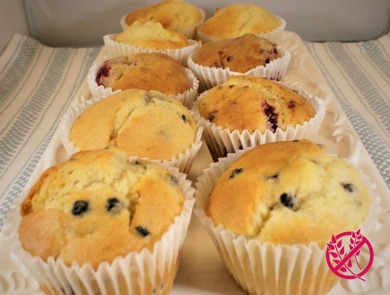 Muffins Apple/Blueberry/Raspberry (12ea Pack) - Gluten Free