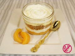 Peaches and Cream Jars, 250mL - Gluten Free