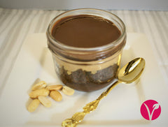 Peanut Butter Chocolate Jars - Vegan