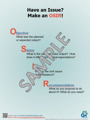 Have an Issue? Make an OSIR -- Poster