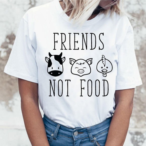 Friends Not Food T-shirt Variation 1