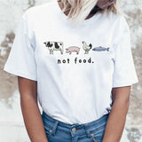 Friends Not Food T-shirt Variation 3