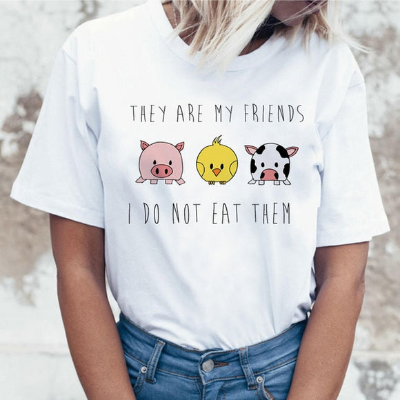 They Are My Friends I Do Not Eat Them T-shirt