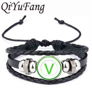 Green V Vegan Bracelet