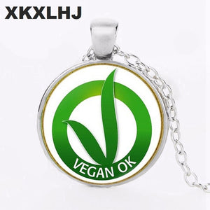 Vegan OK Necklace
