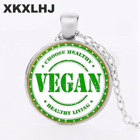 Choose Healthy - Vegan - Healthy Living Necklace