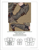 Cos of the Ancients Barbarian ZF Design Arm Armor (L70 Variation)