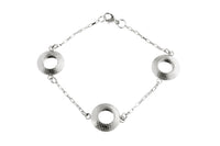 Pareure 360º Series Sterling Silver Small Trio Bracelet