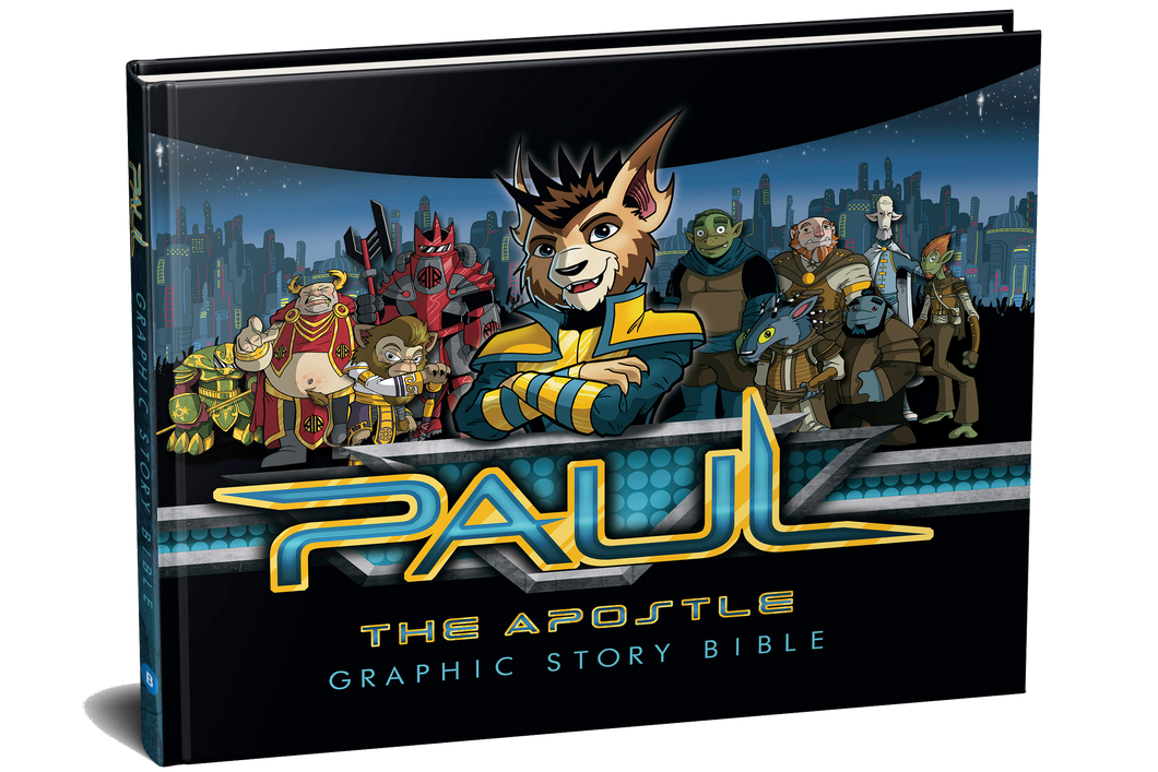 Paul the Apostle: Graphic Story Bible (Hardcover 144 pages)