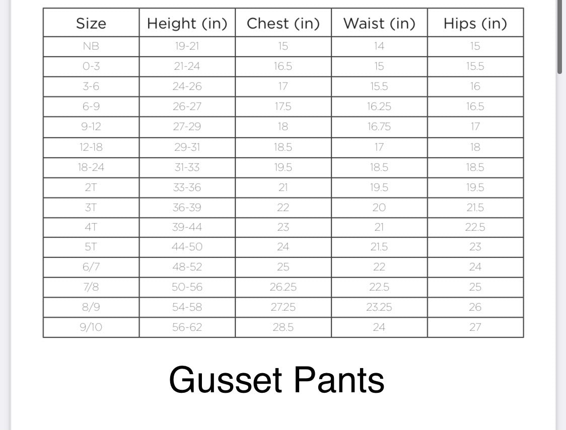 Pacific Gusset Pants