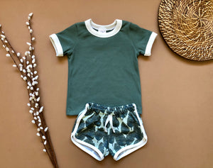 Banana Leaf Shorts