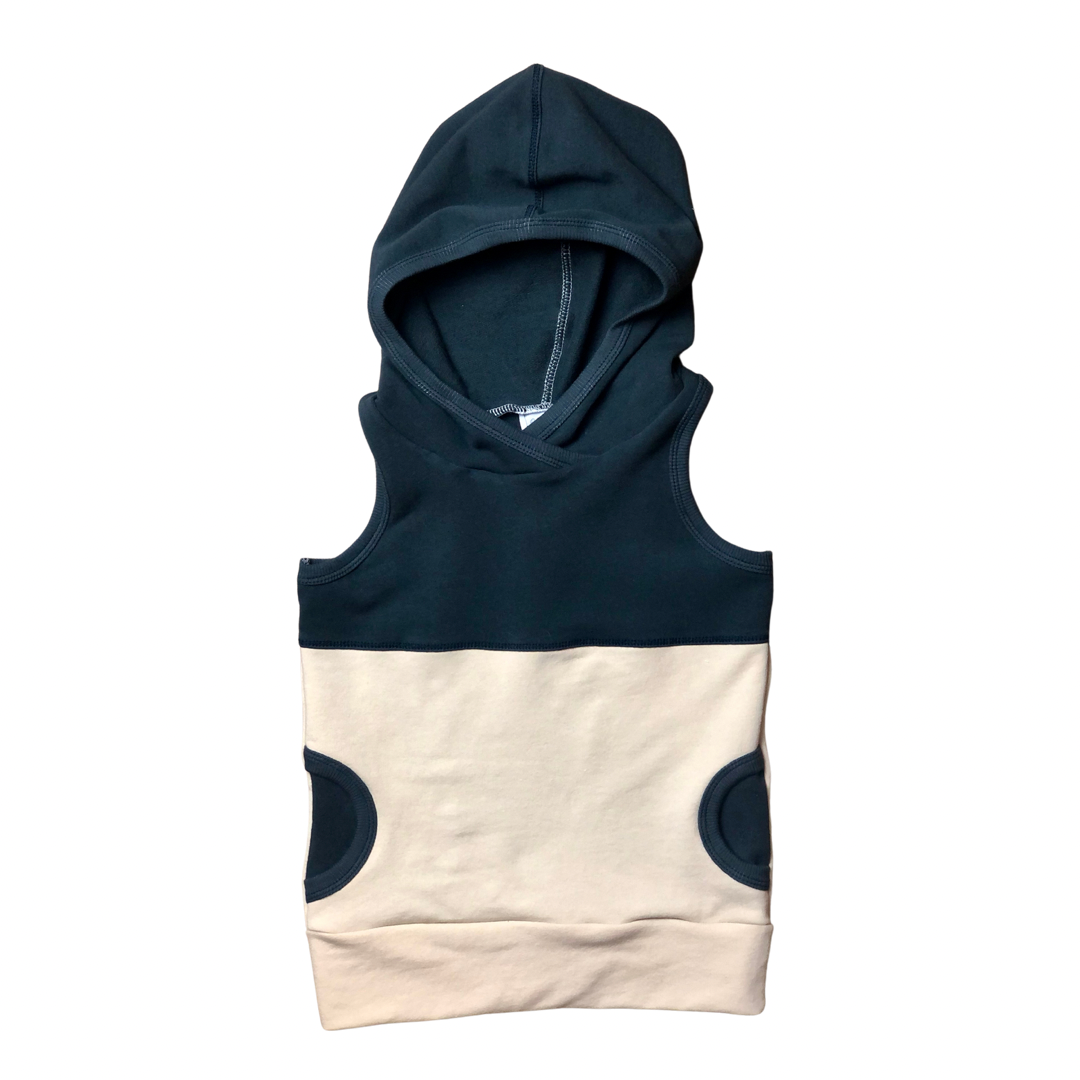 Pacific+Oatmeal Hooded Tank