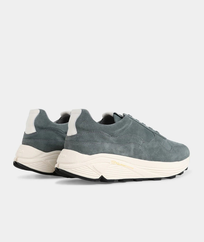 GARMENT PROJECT MAN Bailey Runner - Conifer Suede / Off White Shoes 230 Conifer