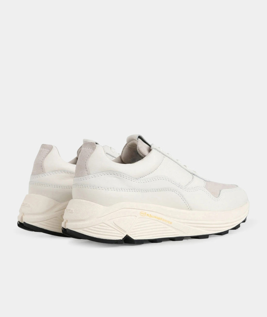 GARMENT PROJECT MAN Bailey Runner - White Leather Shoes 100 White