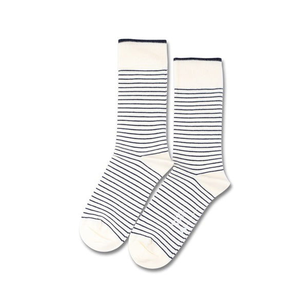 GARMENT PROJECT MAN Socks - White GP X DEMOCRATIQUE SOCKS
