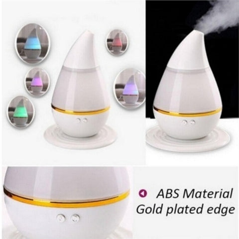 7 Colors LED Ultrasonic Aroma Humidifier Purifier Mist Maker Essential Oil Diffuser