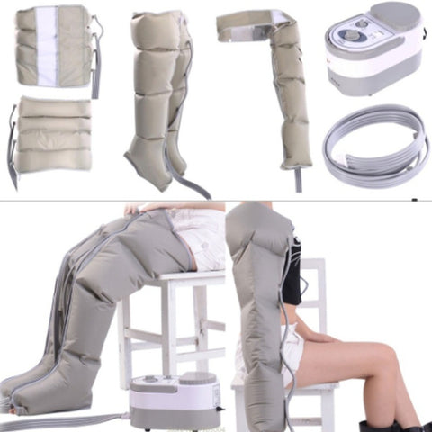 Therapeutic Air Compression Body Massager Waist Leg Arm Relax Instrument Promote Blood Circulation, Pain Relief and inflamation.