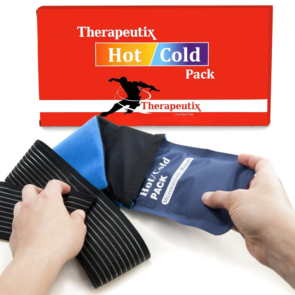Therapeutix Hot or Cold Reusable Gel Pack Wrap