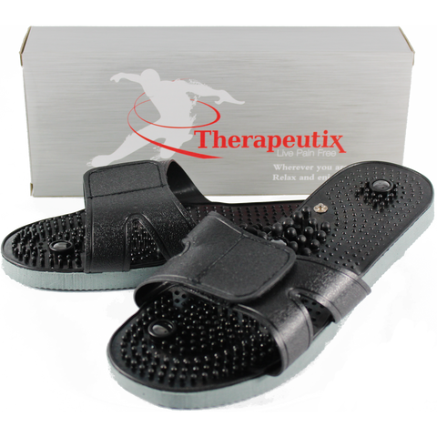 Therapeutix TENS Unit Electronic Massager Electrode Sandals