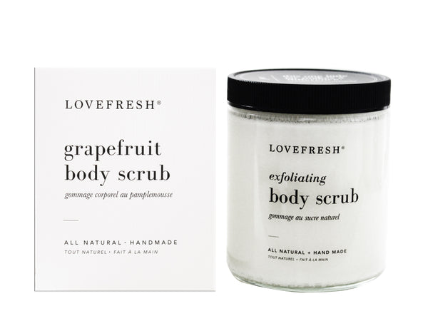 Grapefruit Body Scrub