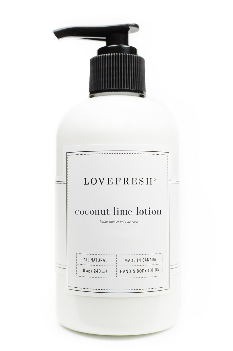 Coconut Lime Hand & Body Lotion