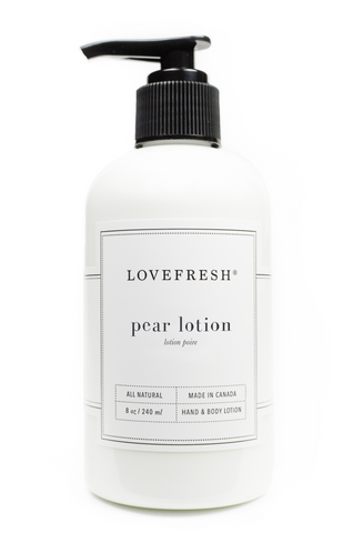 Pear Hand & Body Lotion