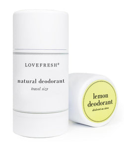 Lemon Travel Size Deodorant