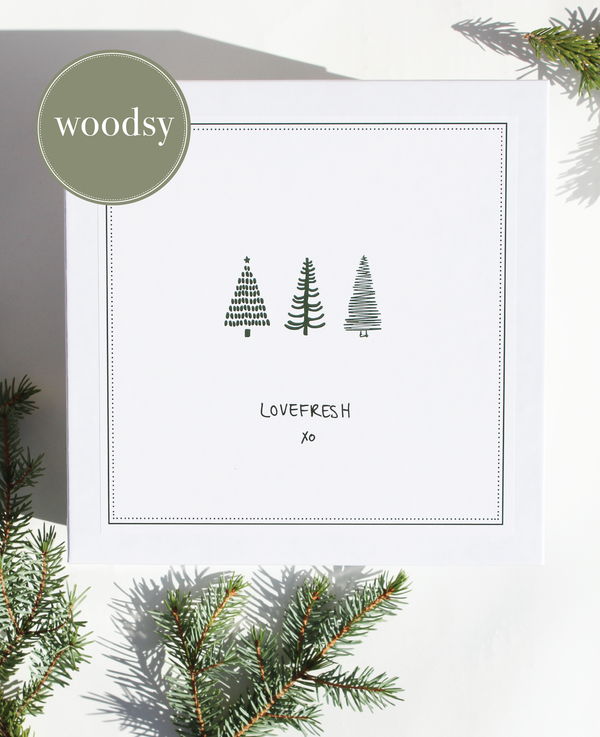 Luxury Holiday Box | Woodsy